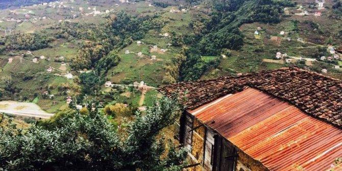 Çaykara Şahinkaya Köyü