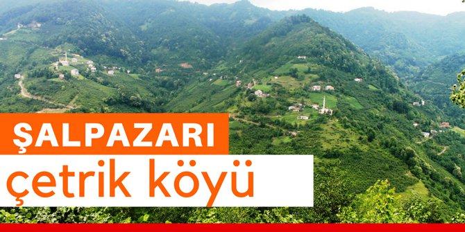 Şalpazarı Çetrik Köyü