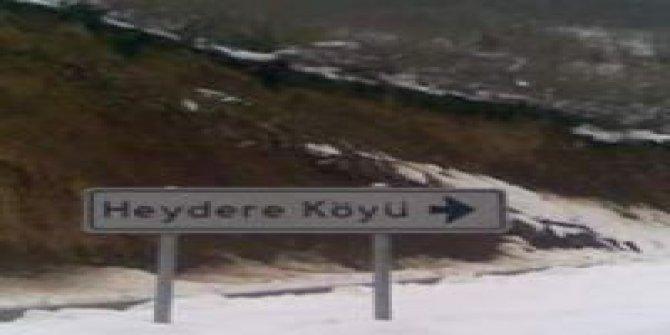 Dereli Heydere Köyü
