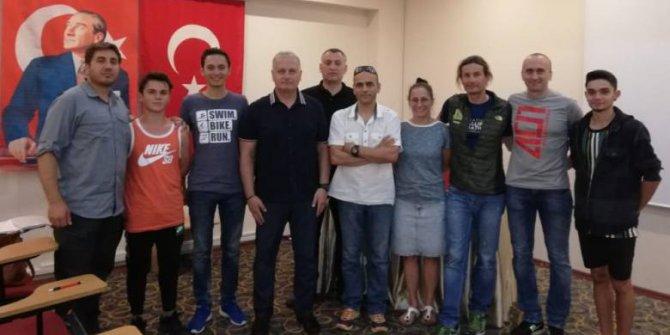 Triatlon Antrenör Kursu Ankara'da Başladı