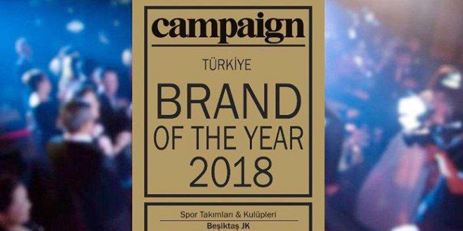 Yılın Spor Markası Ödülü Beşiktaş'a