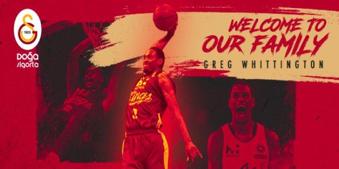 Greg Whittington Galatasaray Doğa Sigorta İle Anlaştı