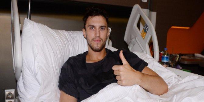 """Gs Marko Arapovic : """"Büyük İhtimalle Bir Ameliyat Daha Olmam Gerekecek"""""""