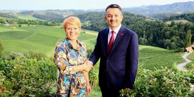 Tarım Ve Orman Bakanı Slovenya'da Önemli Temaslarda Bulundu