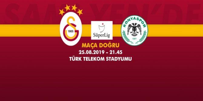 Galatasaray – Konyaspor Maçına Doğru