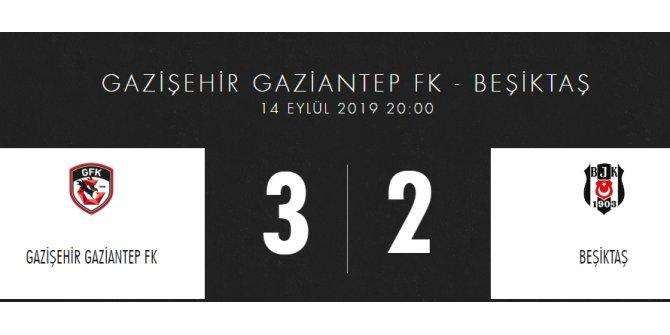 Gazişehir Gaziantep 3 – Beşiktaş 2