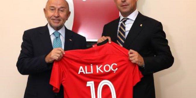 Ali Koç Tff Başkanı Nihat Özdemir'i Ziyaret Etti