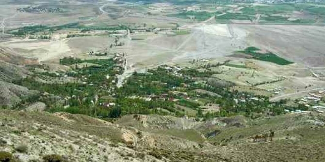 Erzincan Yeşilçay Köyü