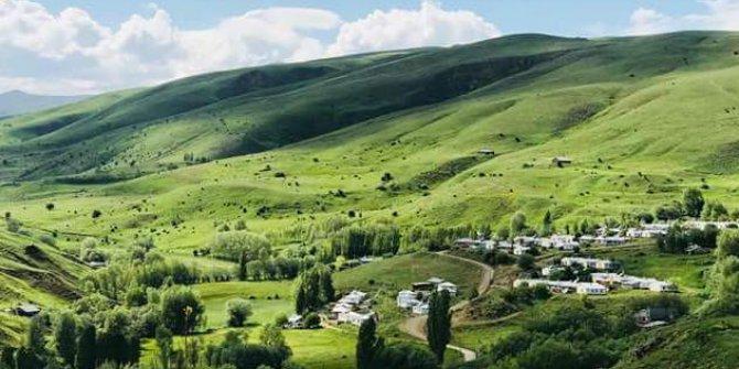 Erzincan Ağılözü Köyü