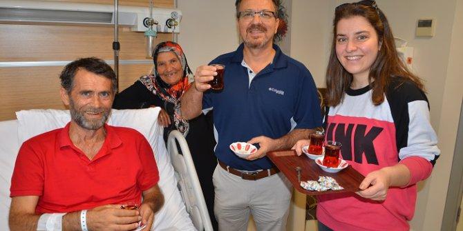 Bağırsağından Yeni Mesane Yapılan Hasta, Doktoruyla Çay İçti !