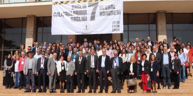 7. Sağlık Çalışanlarının Sağlığı Ulusal Kongresi Düzenlendi