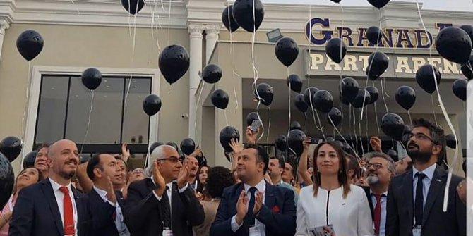 Aile Hekimleri Şiddete Karşı Siyah Balon Uçurdu