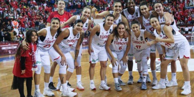 Basketbol Kadın Milli Takımımız Litvanya'yı Mağlup Etti