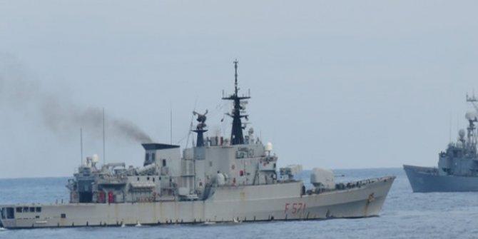 Türk Deniz Görev Grubu'nda Yer Alan Gemilerimiz İtalya'da Liman Ziyareti İcra Ediyor