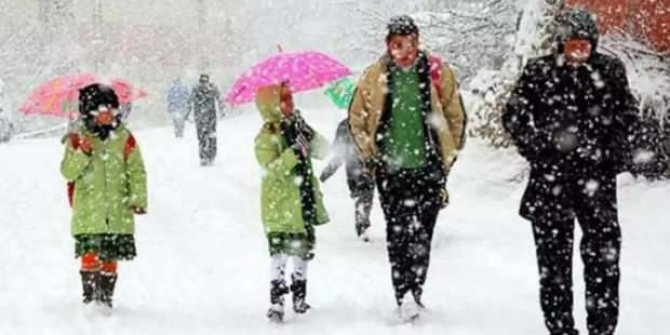 Kars' ta yarın okullar tatil mi, 13 Şubat 2020 Kars valiliği kar tatili açıklaması