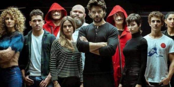 La Casa De Papel 4.sezon ne zaman yayınlanacak, La Casa De Papel yeni sezon için geri sayım başladı