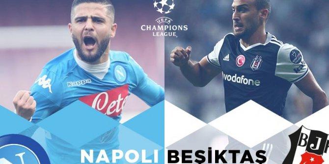 Napoli Beşiktaş Maçı Uydudan Şifresiz İzle