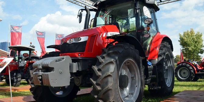 Yılın Traktörü Bursa'da Görücüye Çıktı