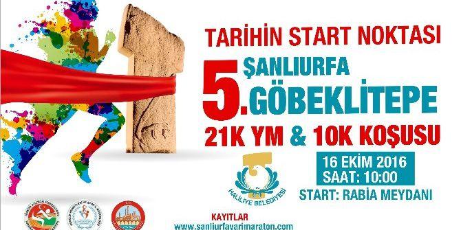 Haliliye Belediyesi Göbeklitepe Maratonunu Düzenliyor