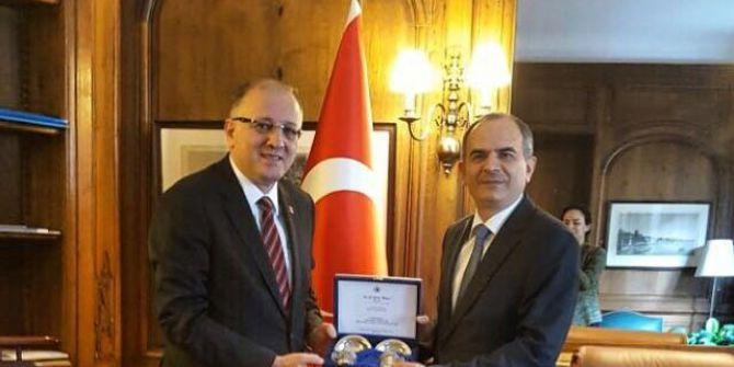 Koçer'den Büyükelçi Başçı'ya Ziyaret