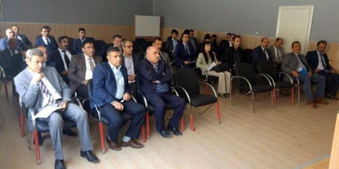 Adilcevaz'da Okul Müdürleri Toplantısı