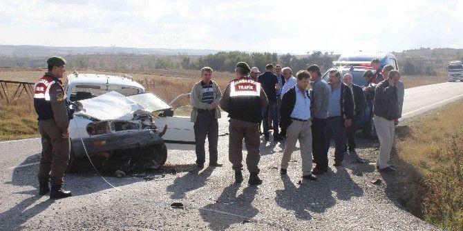 Tekirdağ'da Feci Kaza: 5 Yaralı