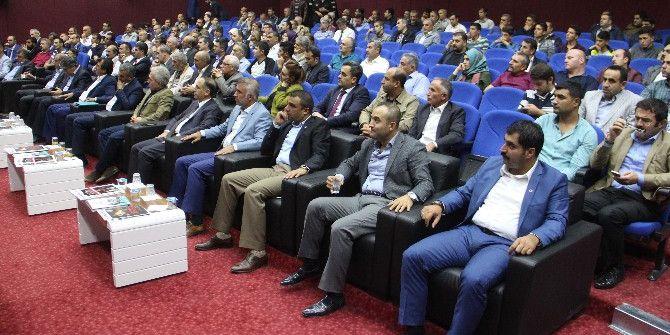 Elazığ'da '15 Temmuz Hainleri Ve Milli Mücadele' Konulu Konferans Düzenlendi