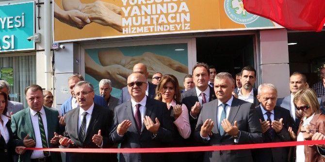 Akhisar Gıda Bankası Törenle Açıldı