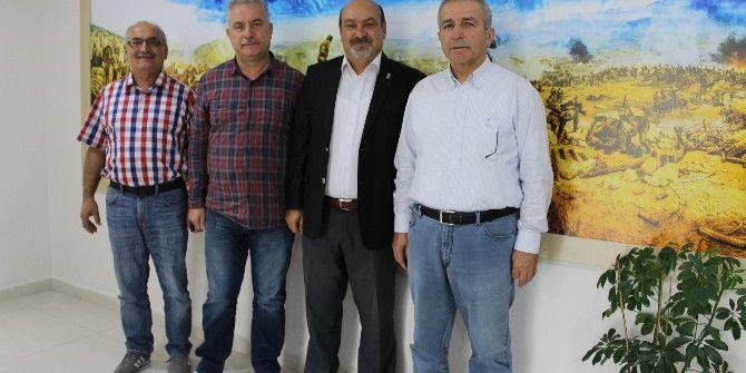 Başkan Konak, Zonguldak Esob Başkanı Coşgun'u Ağırladı