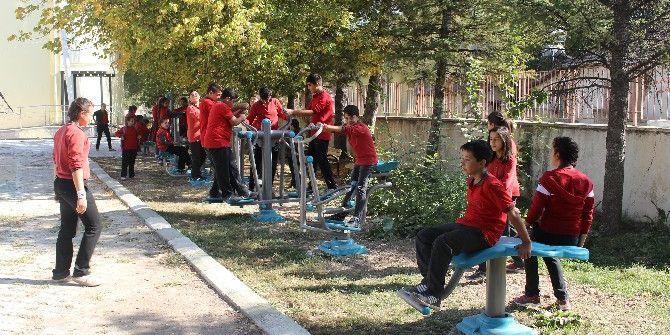 Elmalı Tekke İlkokulu Öğrencileri Sporla Buluştu