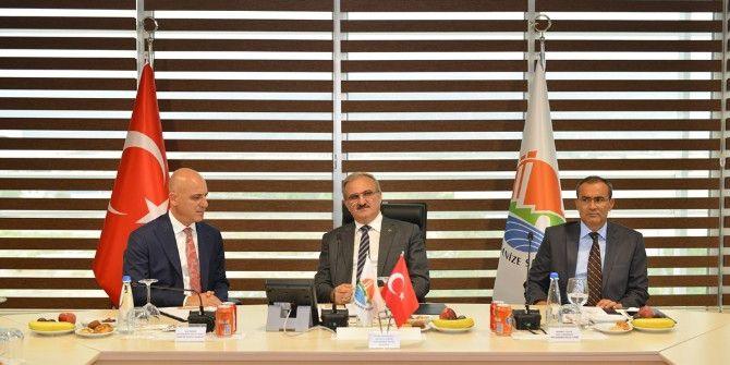 Vali Karaloğlu, Osb Müteşebbis Heyeti Toplantısına Katıldı