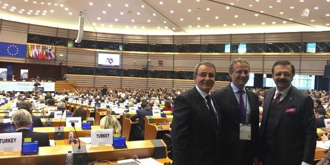Başkan Murzioğlu Brüksel'de