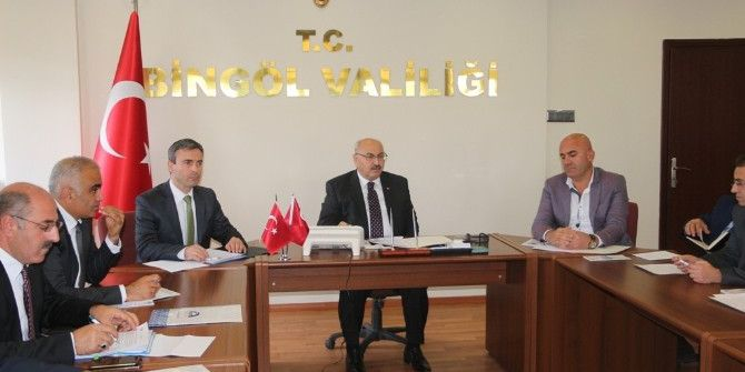 Bingöl'de Yatırımları Kolaylaştırma Toplantısı Yapıldı