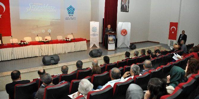 """Neü'de """"Ortaçağ İslam Dünyasında Seyyahlar Ve Seyahatnameler"""" Uluslararası Bilgi Şöleni Başladı"""