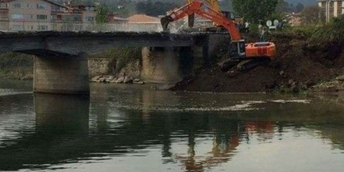 """Metin Gündoğdu: """"Akçaova Köprüsü 2 Ayda Bitecek"""""""