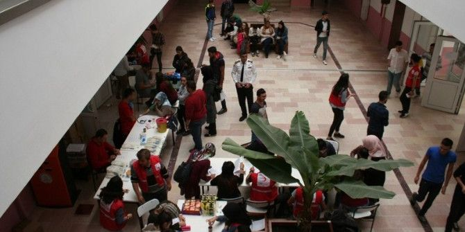 Devrek Meslek Yüksekokulu'ndan Kan Bağışı Yapıldı
