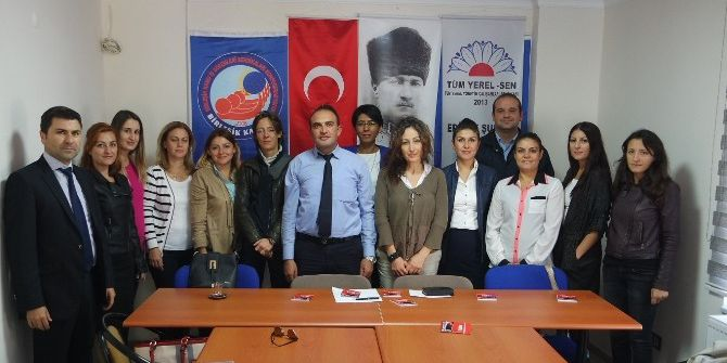 Edirne Tüm Yerel-sen Kadın Komisyonu Kurdu