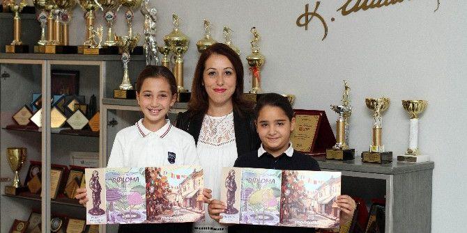 Uluslararası Resim Yarışmasında Sanko Öğrencileri Ödüllü Döndü