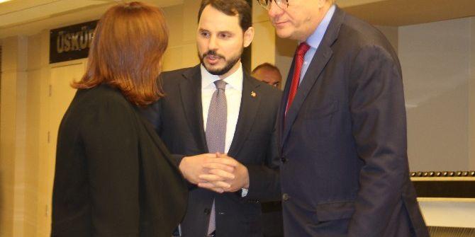 Bakan Albayrak Ve İsrail Enerji Bakanı Steinitz 'Doğu Akdeniz' Konulu Oturuma Katıldı