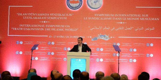 """""""İslam Dünyasında Sendikacılık"""" Uluslararası Sempozyum Başladı"""