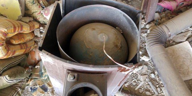 Nusaybin'de Soba Ve Sokakta Tuzaklanan Patlayıcı İmha Edildi