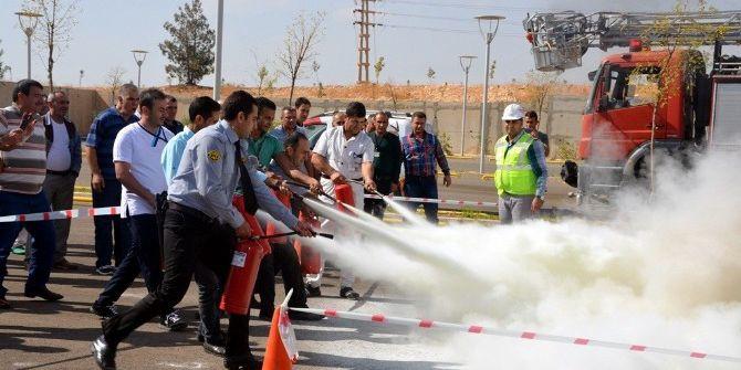 Harran Üniversitesinde Gerçeği Aratmayan Tatbikat