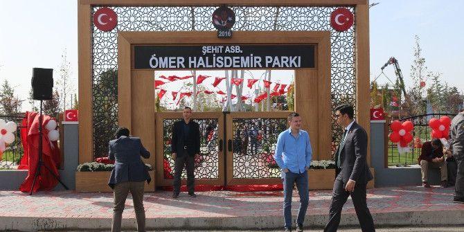 Niğde'de Şehit Ömer Halisdemir Parkı Törenle Açıldı