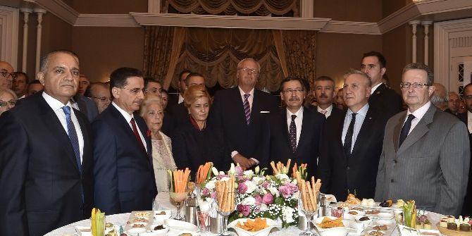 Başkan Gökçek'ten Ankara'nın Başkent Oluşunun 93'üncü Yılı Resepsiyonu