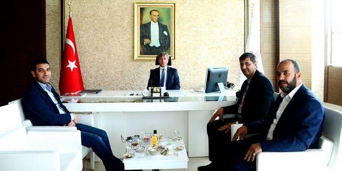 Bigacem'den Vali Çınar'a Ziyaret