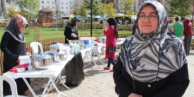 Vanlı Kadınlardan 'Halep' İçin Kermes