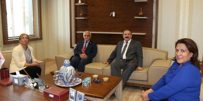 Rektör Kılıç'tan Baro Başkanı Necmi Öncül'e Ziyaret