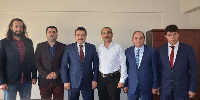 Ortahisar Belediye Başkanı Genç'ten İha'ya Ziyaret