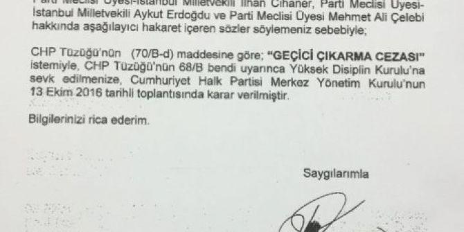 """Beşiktaş Belediye Başkanı'nın """"Geçici Çıkarma Cezası"""" İstemiyle Disiplin Kuruluna Sevk Edilmesine İlginç Neden"""