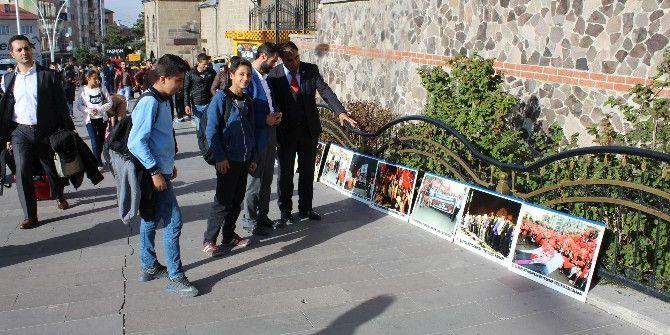 Erzurum'da 15 Temmuz Van Sergisi
